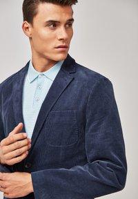 Next - CORD - Blazer jacket - blue - 4