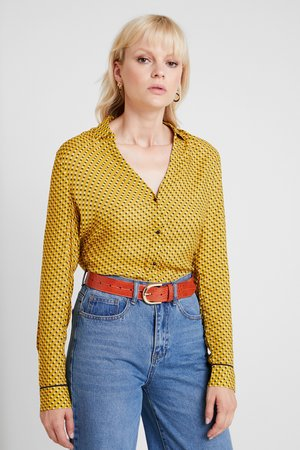 Blouse - amber yellow