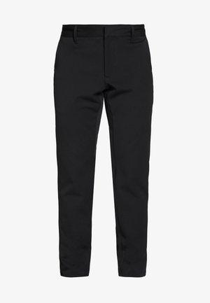 PALO SLIMFIT - Kalhoty - black