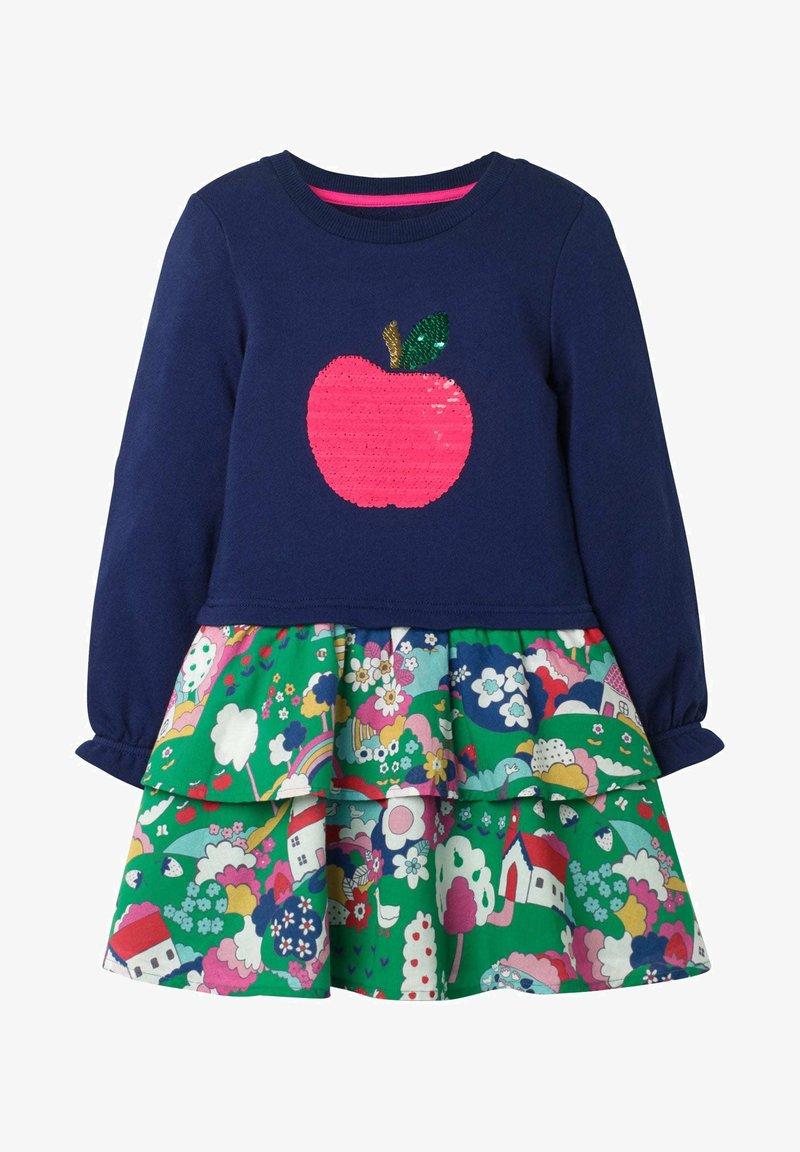 Boden - MIT FARBWECHSELNDEN PAILLETTEN - Day dress - multi-coloured