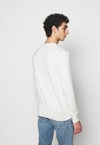 Polo Ralph Lauren - LONG SLEEVE - Stickad tröja - antique cream - 2