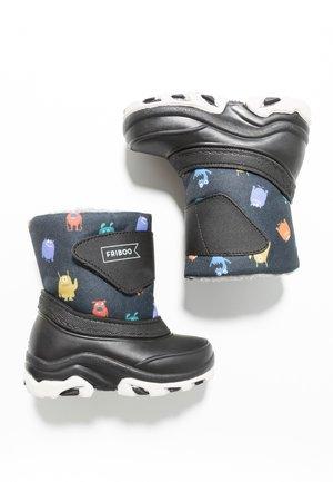 Winter boots - black/petrol