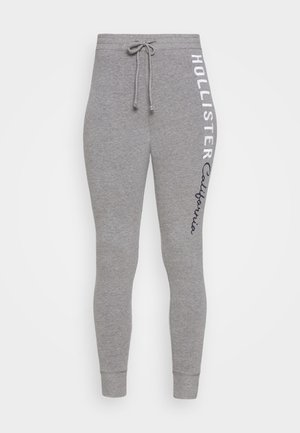 LOGO FLEGGINGS - Leggings - Trousers - medium grey