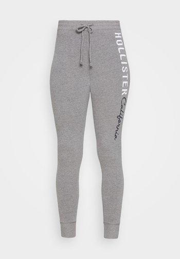 LOGO FLEGGINGS - Leggings - medium grey