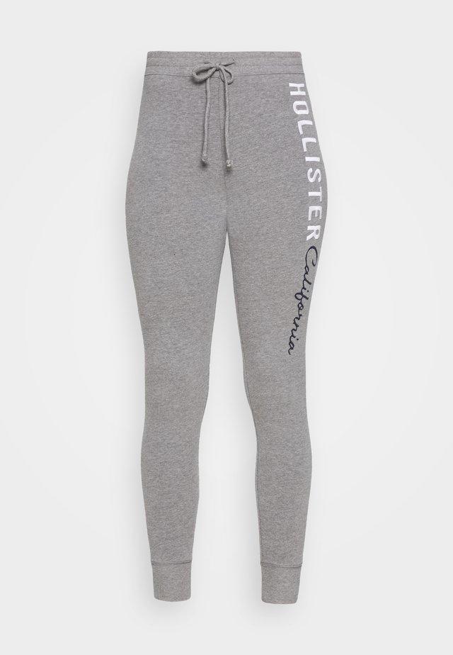 LOGO FLEGGINGS - Leggings - Trousers - medium grey