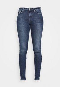 SYLVIA SUPER - Jeans Skinny Fit - lund dark blue