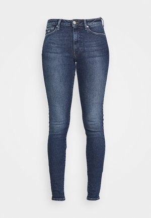 SYLVIA SUPER - Jeans Skinny Fit - lund dark blue