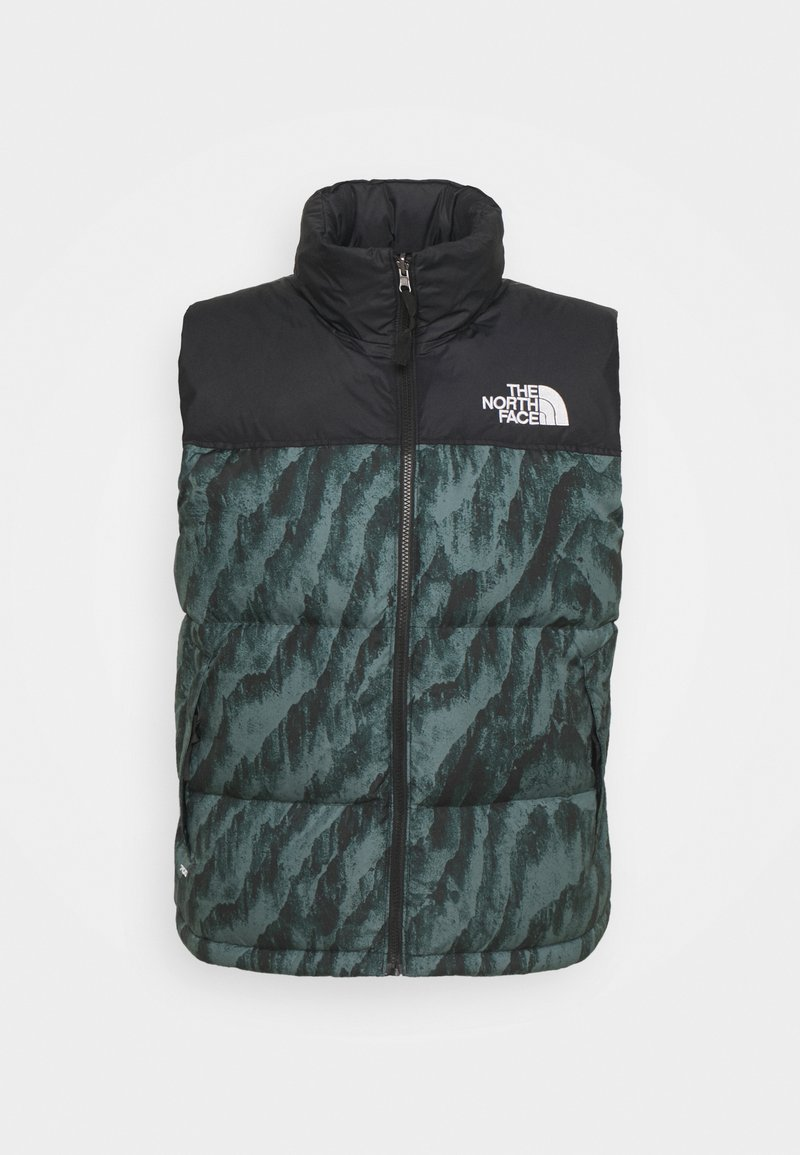 The North Face - PRINTED 1996 RETRO NUPTSE VEST UNISEX - Waistcoat - balsam green