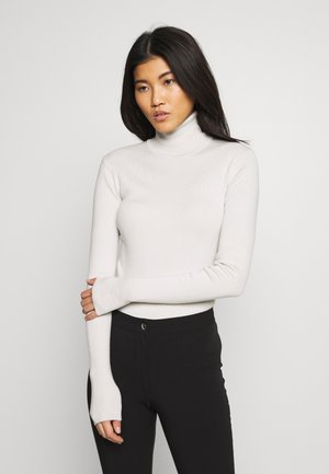 KIRSTEN TURTLENECK - Jumper - beige