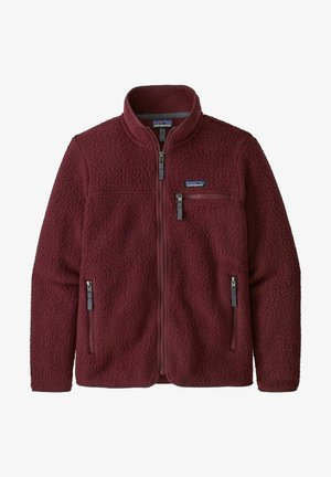 Fleece jacket - chicory red
