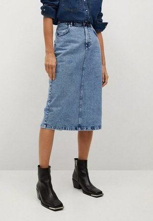 Denim skirt - blu medio