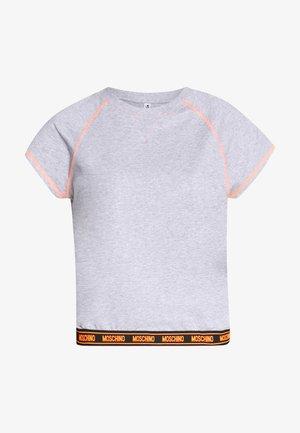 SHORT SLEEVE - Pyjamashirt - gray melange