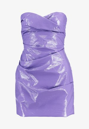 WAX ON MINI DRESS - Denní šaty - purple