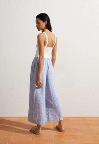 OYSHO - Pantalon classique - light blue - 2