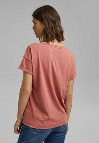 Esprit - Basic T-shirt - blush - 2