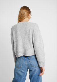 New Look - BOXY STRAIGHT SLEEVE - Trui - light grey - 2