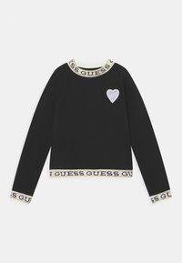 Guess - JUNIOR - Long sleeved top - black - 0