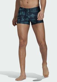 adidas Performance - FESTIWILD - Swimming trunks - blue - 0