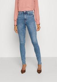 Weekday - BODY HIGH - Jeans Skinny Fit - bleecker blue - 0