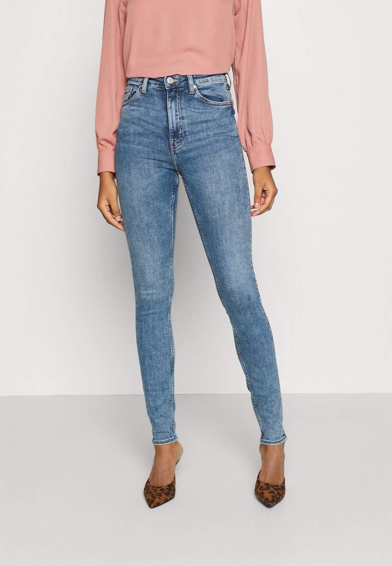 Weekday - BODY HIGH - Jeans Skinny Fit - bleecker blue