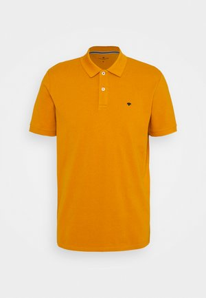 BASIC WITH CONTRAST - Polo shirt - flame brown