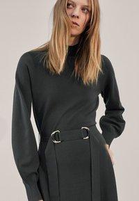 Massimo Dutti - Jumper dress - Dark Grey - 1