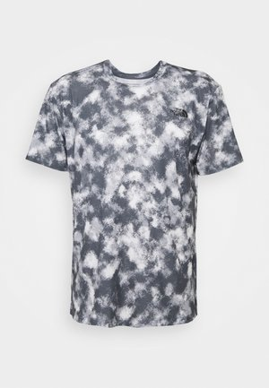 PRINTED WANDER - T-shirts print - vanadis grey