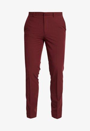 STRETCH - Kostymbyxor - red