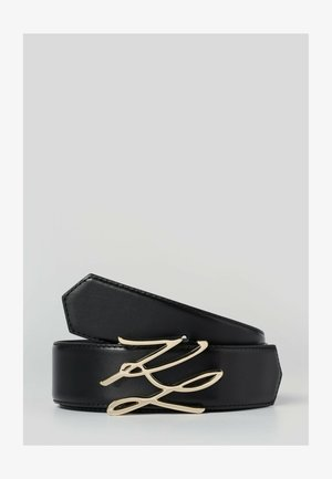 Belt - black/gold