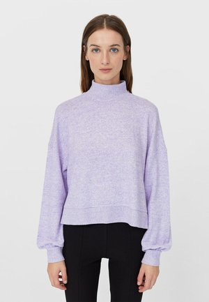 Strikpullover /Striktrøjer - purple