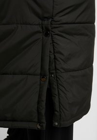 Simply Be - LONG PUFFER COAT WITH CONTRAST LINING - Villakangastakki - black - 5