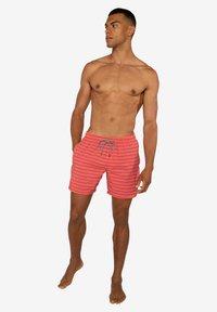 Protest - SHARIF - Swimming shorts - deep coral - 0