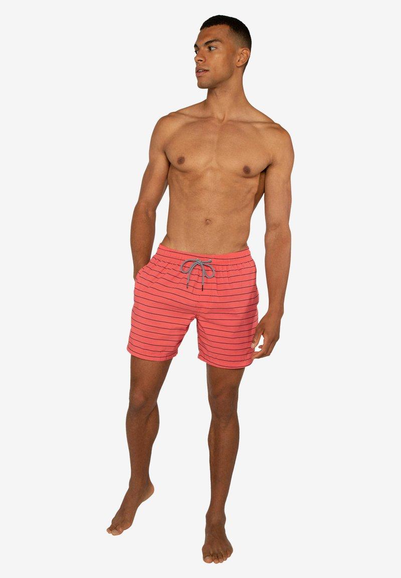 Protest - SHARIF - Swimming shorts - deep coral