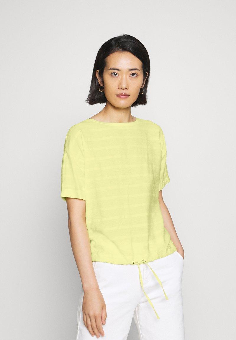 Opus - SELLY - Blouse - fresh lemon