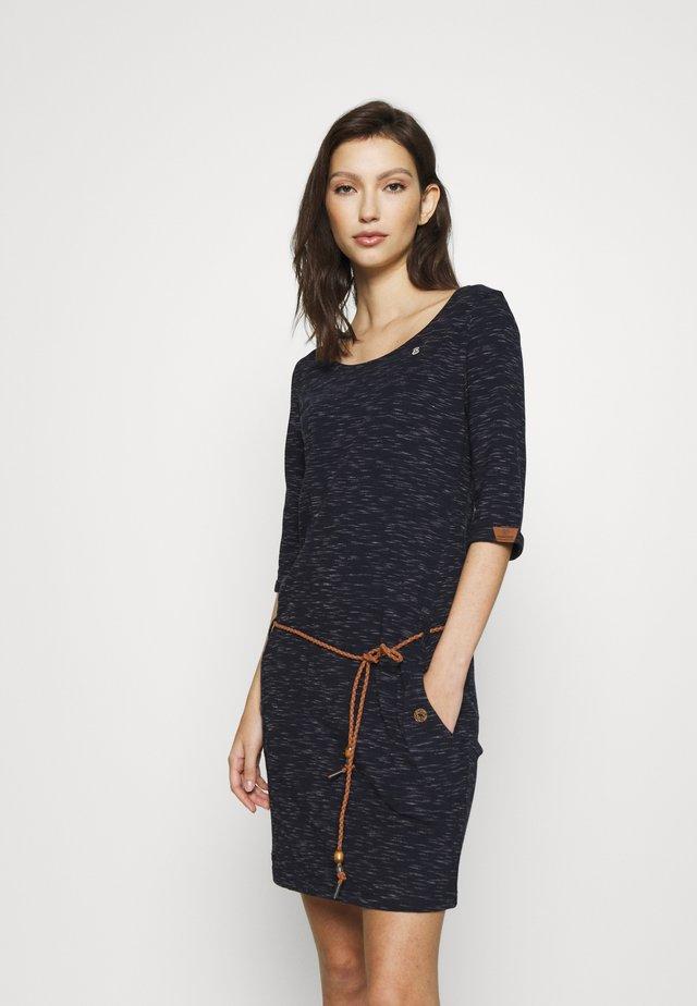 TANYA - Jersey dress - navy