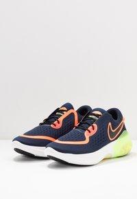 Nike Performance - JOYRIDE  - Juoksukenkä/neutraalit - midnight navy/black/hyper crimson/laser crimson-barely volt-diffused blue - 2