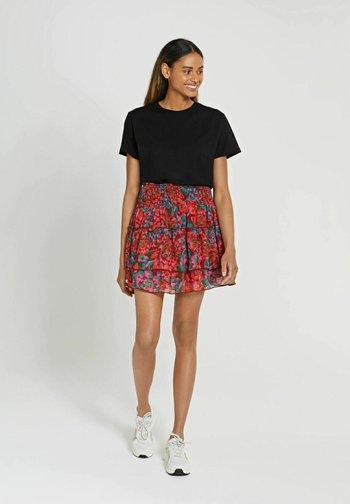 AMALFI  - A-line skirt - chili red