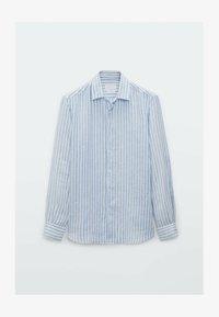 Massimo Dutti - SLIM FIT - Formal shirt - light blue - 0