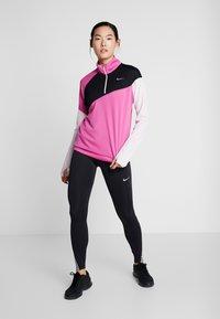 Nike Performance - MIDLAYER - Sports shirt - cosmic fuchsia/black/barely rose/silver - 1