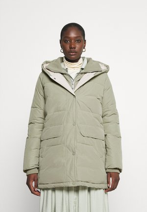 LUXURY PUFFER - Winter coat - herbal tea green
