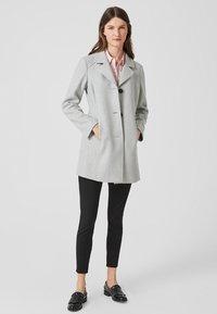 s.Oliver - Short coat - light grey melange - 1