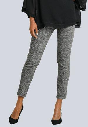 Trousers - schwarz,weiß