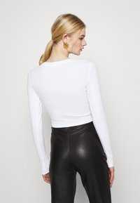 Monki - BARB 2 PACK - Långärmad tröja - black dark/white - 2