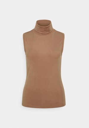 VMORIELLE ROLL NECK  - Top - tigers eye