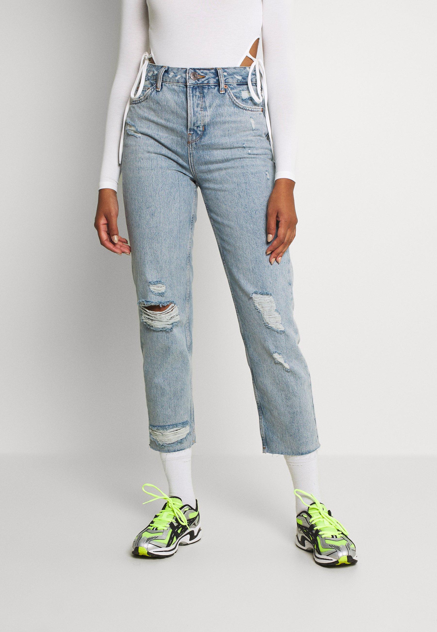 Women DESTROY RIPPED PAX - Straight leg jeans