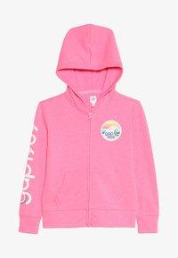 GAP - GIRLS - Zip-up hoodie - neon malibu pink - 3
