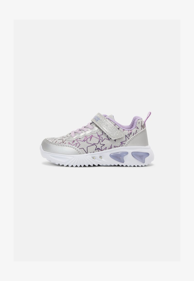 Geox - ASSISTER GIRL - Trainers - silver/lilac