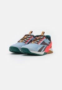 Reebok - NANO X1 TR ADVENTURE - Sports shoes - gable grey/core black/neon cherry - 1