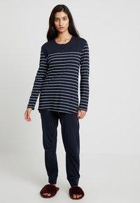 Schiesser - BASIC SET - Pyjama set - nachtblau - 1