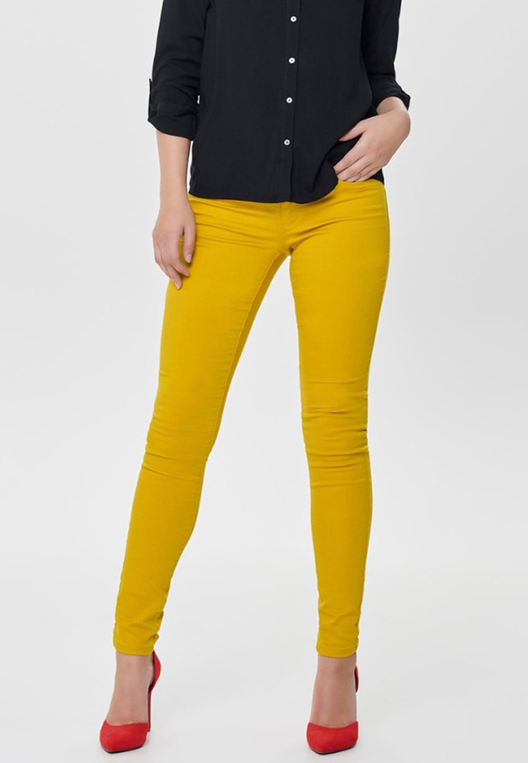 ONLY - RAIN - Jeans Skinny - yellow